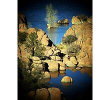 Watson Lake, Prescott, AZ Photographic Print