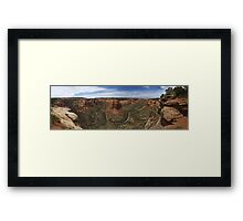 Ute Canyon, Colorado National Monument Framed Print