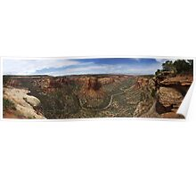 Ute Canyon, Colorado National Monument Poster