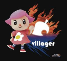 Super Smash Bros - Villager (Female) by phoenix529