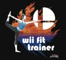 Super Smash Bros - Wii Fit Trainer (Female) by phoenix529