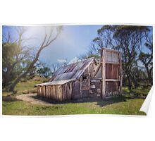 Wallace's Hut - Falls Creek Poster