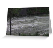 flowing Greeting Card