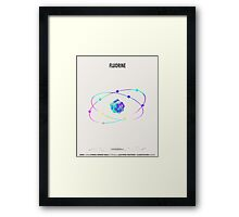 Fluorine - Element Art Framed Print