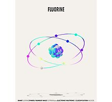 Fluorine - Element Art Photographic Print