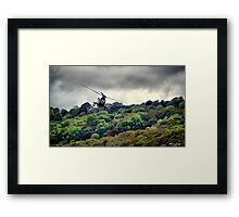 Puma in Flight Framed Print