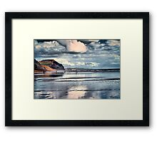 Low Tide at Charmouth Framed Print