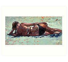 The Sunbather III Art Print