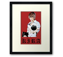 Kira 3 - Death Note Framed Print