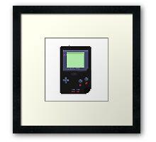 Pixel Gameboy Pocket Framed Print