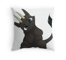 Chibi Dragon Throw Pillow