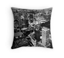 Singapore at Dusk Throw Pillow