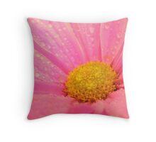 Tickle Me Pink!! Throw Pillow