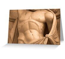 sculpted man Greeting Card