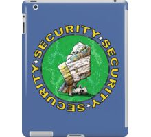 The Magical Security Blanket (blue) iPad Case/Skin