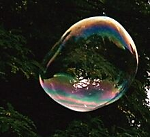 Clear Bubble by Jack Nicholson