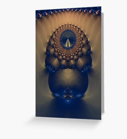 Keeper Of Time Greeting Card