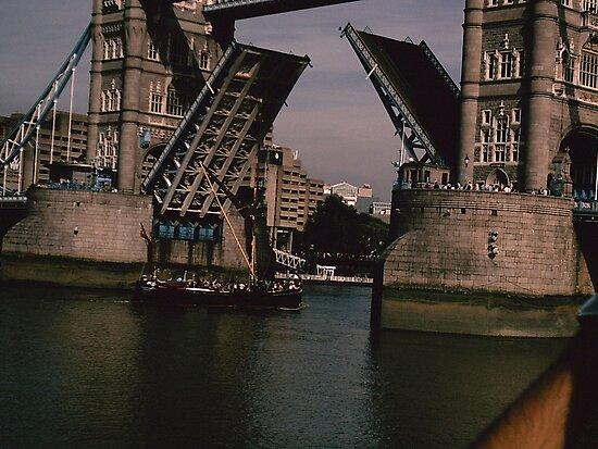 The Vikings Of Tower Bridge by Jack Nicholson