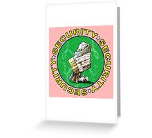 The Magical Security Blanket (pink) Greeting Card