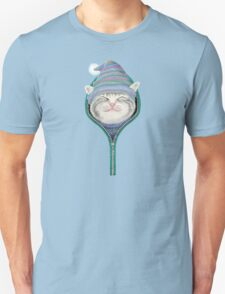 Cat in the zip Unisex T-Shirt