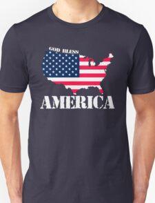 god bless america Unisex T-Shirt