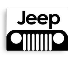 Jeep Funny Geek Nerd Canvas Print