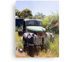 1946 Chevy - Abandoned Metal Print