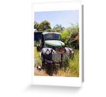 1946 Chevy - Abandoned Greeting Card