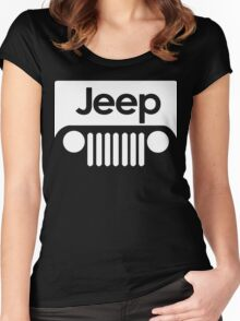 Jeep Funny Geek Nerd Women's Fitted Scoop T-Shirt