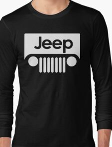 Jeep Funny Geek Nerd Long Sleeve T-Shirt