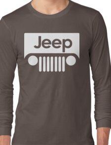 Jeep Funny Geek Nerd Long Sleeve T-Shirt