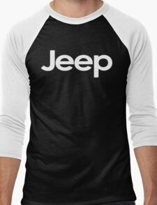 Jeep! Funny Geek Nerd Men's Baseball ¾ T-Shirt