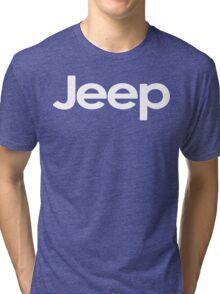 Jeep! Funny Geek Nerd Tri-blend T-Shirt