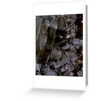 fallen crystals Greeting Card