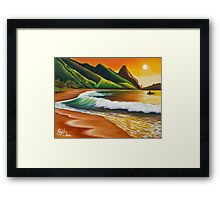 Land of Lucidity Framed Print