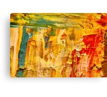 abstract sunrise Canvas Print