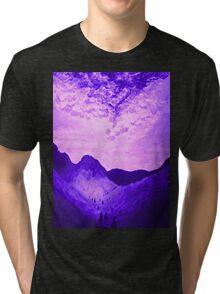 Blue Landscape Tri-blend T-Shirt