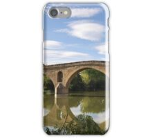 Bridge in Puente la Reina - Camino de Santiago iPhone Case/Skin