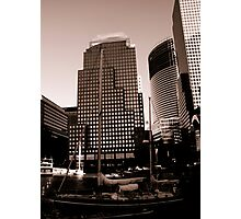 Financial Centre Photographic Print