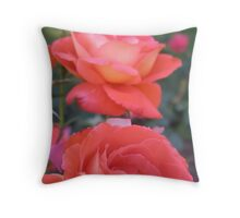 Benalla Roses Throw Pillow