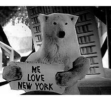 me love new york Photographic Print