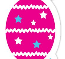 Happy easter holiday Sticker