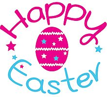 Happy easter holiday Photographic Print