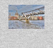 The Millennium Bridge, London Unisex T-Shirt