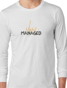Mischief Managed 1 Long Sleeve T-Shirt