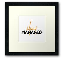 Mischief Managed 1 Framed Print