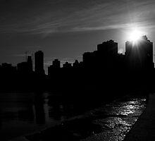 Skyline Silhouette by Patrick  Byrne