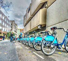 Borris Bikes by martinlogan