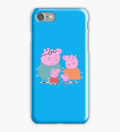 Peppa Pig Family iPhone Case/Skin