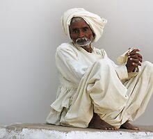 RABARI MAN - INDIA by Michael Sheridan
